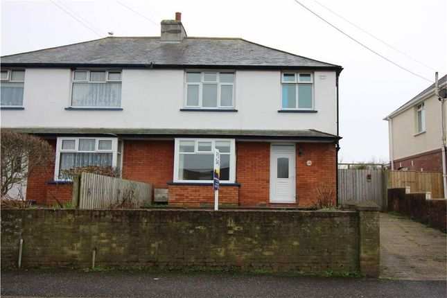 Thumbnail Semi-detached house for sale in Chaddiford Lane, Barnstaple