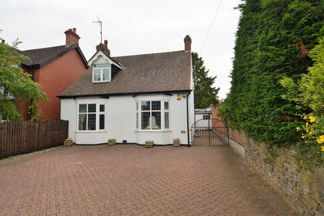 Thumbnail Detached bungalow for sale in Chatsworth Road, Chesterfield, Derbyshire