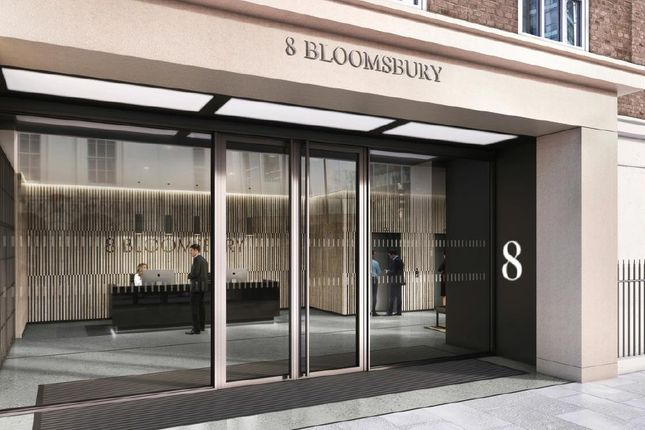 Thumbnail Office to let in Bloomsbury Street, London