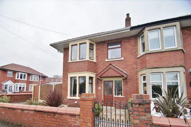 Thumbnail Semi-detached house for sale in Tennyson Avenue, Lytham St. Annes