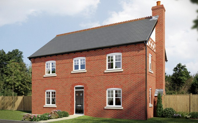 Thumbnail Detached house for sale in The Houghton 2, St James Fields, Watering Pool, Lockstock Hall, Preston, Lancashire