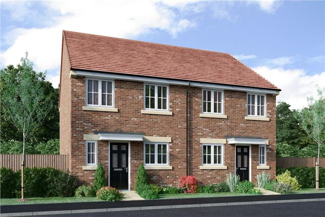 """Thumbnail Semi-detached house for sale in """"The Hawthorne Alternative"""" at Drove Road, Throckley, Newcastle Upon Tyne"""
