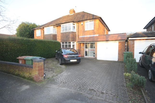 Thumbnail Semi-detached house to rent in Park Road, Rushall, Walsall