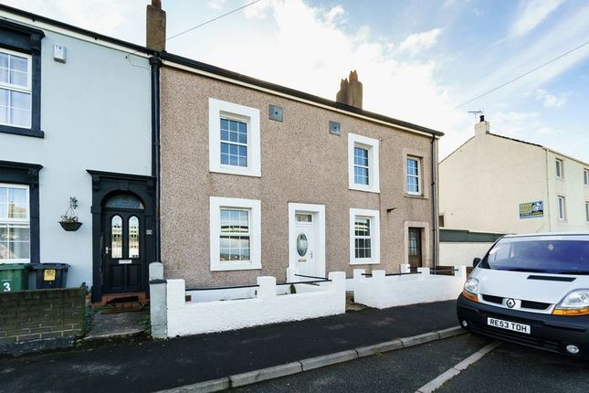 Thumbnail End terrace house for sale in Church Road, Harrington, Workington