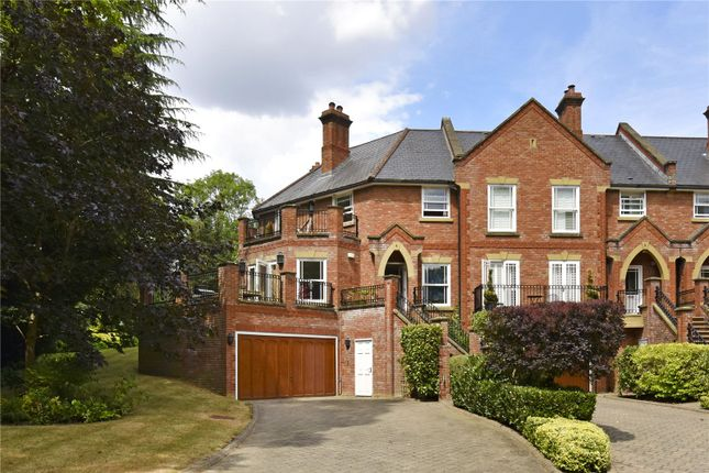 Thumbnail End terrace house for sale in Misbourne House, Amersham Road, Chalfont St. Giles, Buckinghamshire