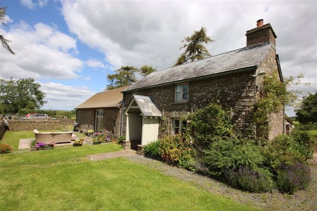Thumbnail Detached house for sale in Tregoyd, Brecon, Powys