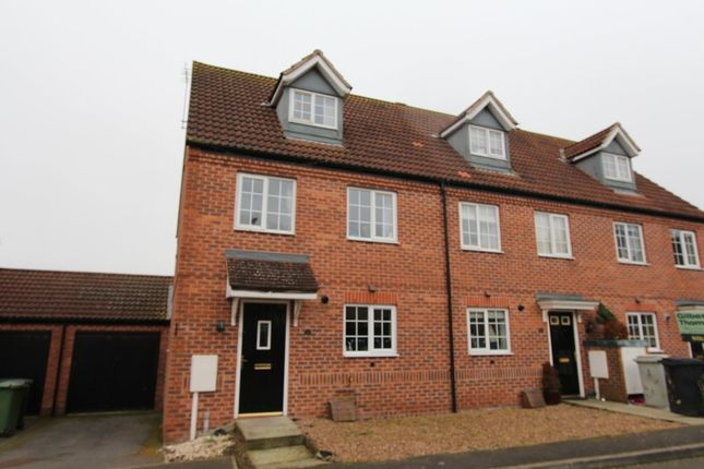 Thumbnail Semi-detached house to rent in Hectors Way, Oakham