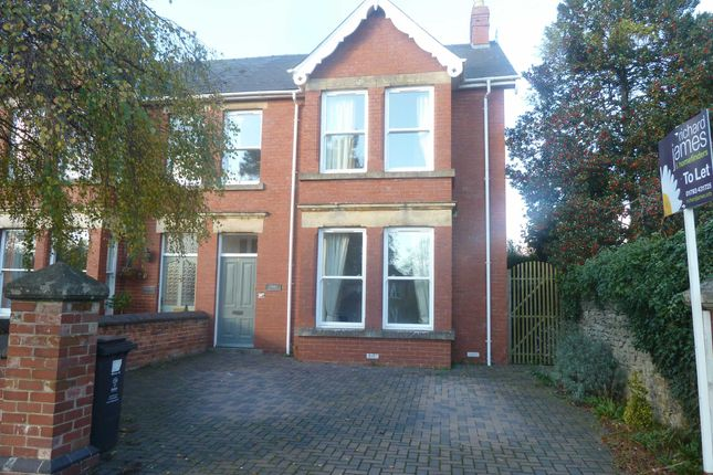 Thumbnail Semi-detached house to rent in Westlecot Road, Swindon, Wiltshire