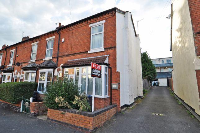 Thumbnail End terrace house to rent in Warren Road, Stirchley, Birmingham