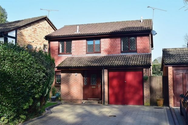 Thumbnail Detached house for sale in Cheylesmore Drive, Frimley, Camberley, Surrey
