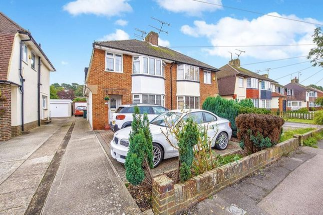 Thumbnail Semi-detached house for sale in St Marys Drive, Pound Hill, Crawley