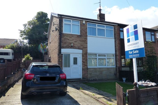 Thumbnail Semi-detached house for sale in Hindley Road, Liversedge, West Yorkshire.