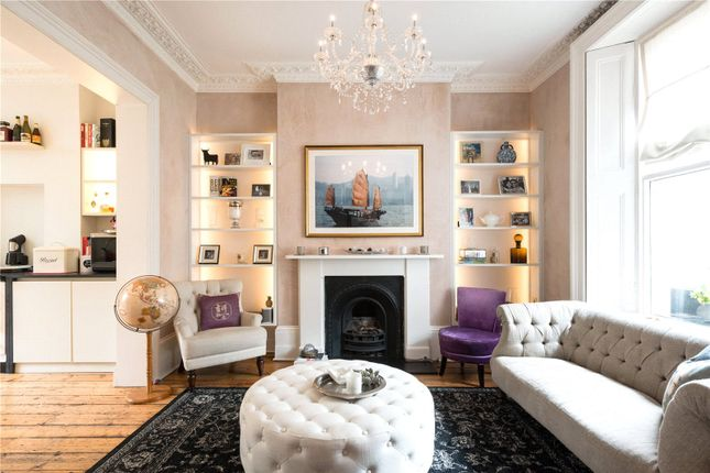 Thumbnail Terraced house to rent in Chalcot Crescent, Primrose Hill, London