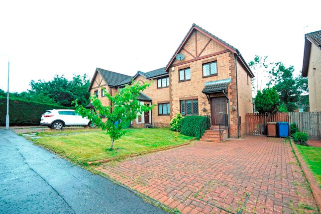 Thumbnail End terrace house for sale in Springcroft Gardens, Baillieston, Glasgow