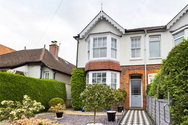 Thumbnail Semi-detached house for sale in Hereford Road, Abergavenny, Monmouthshire