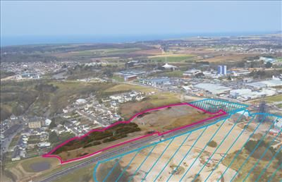 Commercial property for sale in South Crofty Residential Land, Pool, Redruth, Cornwall