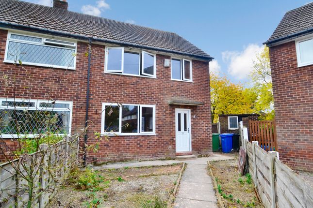 Thumbnail Semi-detached house to rent in Cherry Tree Close, Romiley, Stockport, Greater Manchester