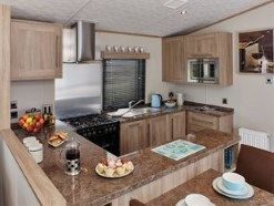 Kitchen of Lyons Holiday Park, Towyn Road, Towyn, Abergele LL22