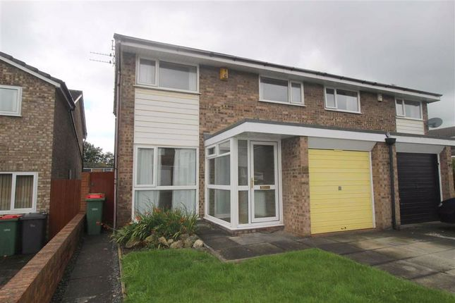 Thumbnail Semi-detached house to rent in Levensgarth Avenue, Fulwood, Preston
