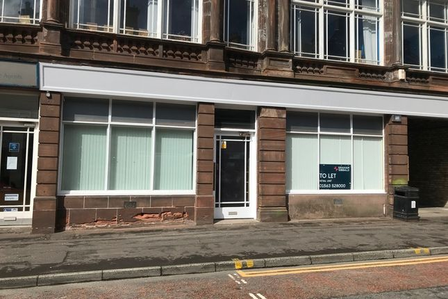 Thumbnail Retail premises to let in John Finnie Street, Kilmarnock