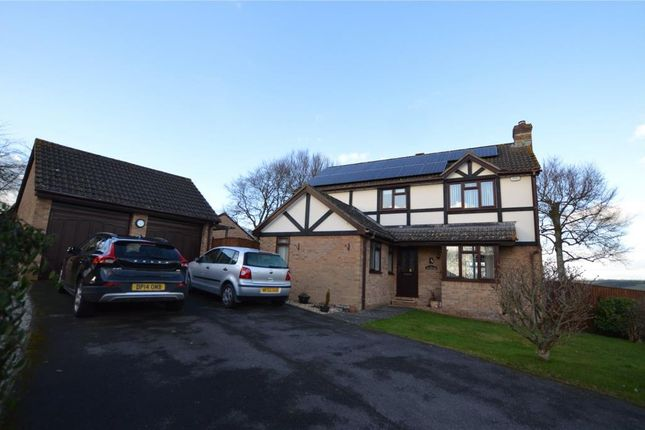 Thumbnail Detached house for sale in Beech Park, Crediton, Devon
