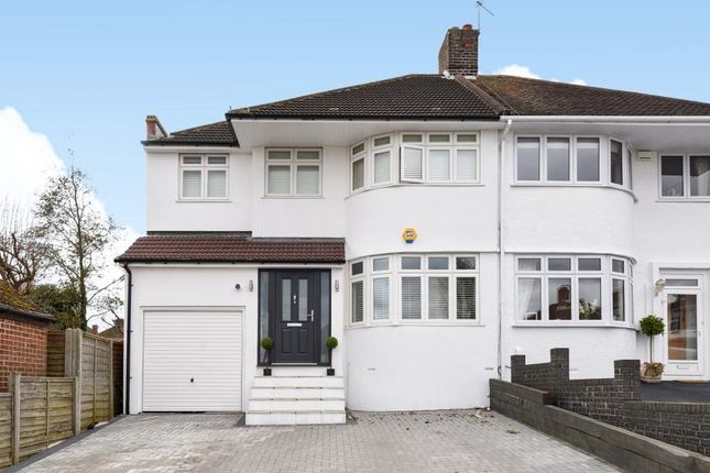 Thumbnail Semi-detached house for sale in Brownspring Drive, London