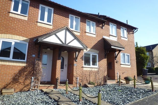 Thumbnail Terraced house for sale in Brackenwood Crescent, Bury St. Edmunds