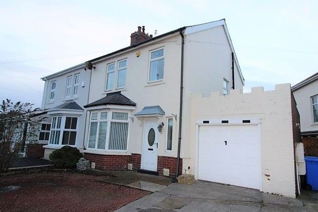 Thumbnail Semi-detached house to rent in Broadway, Blyth