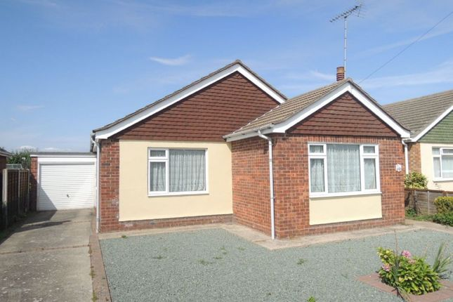 Thumbnail Detached bungalow for sale in Millers Barn Road, Jaywick, Clacton-On-Sea