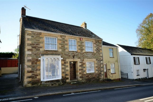 Thumbnail Detached house for sale in Fore Street, Grampound, Truro, Cornwall
