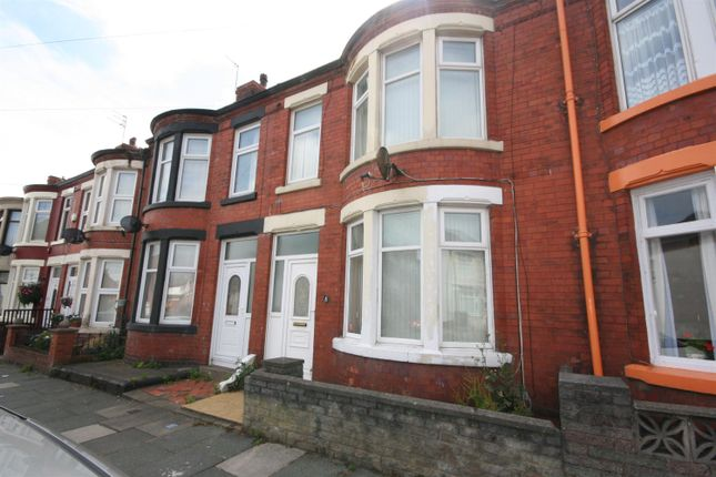 Thumbnail Terraced house for sale in Norwood Road, Wallasey