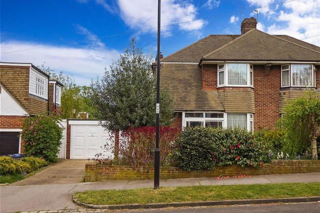 Thumbnail Semi-detached house for sale in Greenway Gardens, Shirley, Surrey