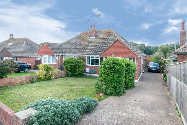 Thumbnail Semi-detached bungalow for sale in Hastings Avenue, Seaford