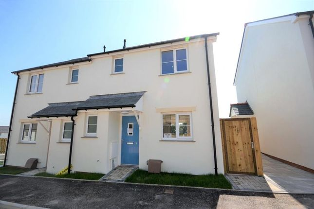 Thumbnail Semi-detached house to rent in Double White Rise, St Anns Chapel, Gunnislake, Cornwall