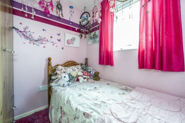 Bedroom Three of Canada Close, Fearnhead, Warrington, Cheshire WA2