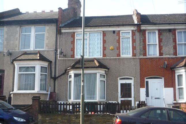 Thumbnail Terraced house to rent in Brunswick Park Road, New Southgate