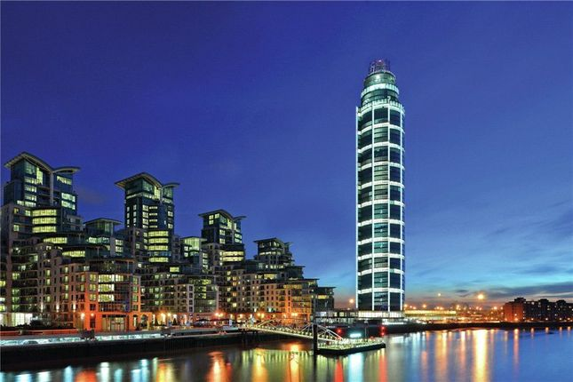 Thumbnail Flat to rent in The Tower, 1 St. George Wharf, London
