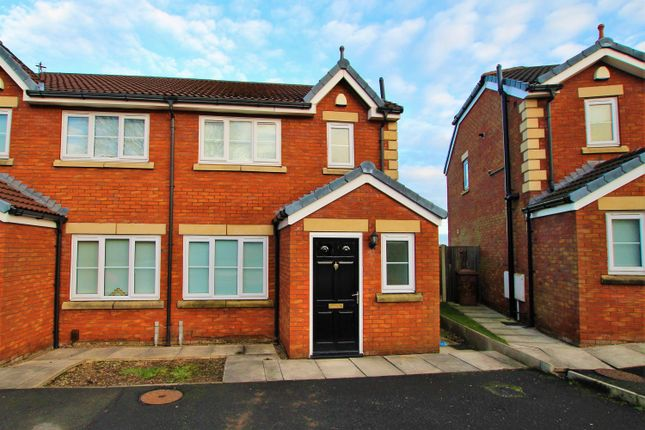 3 bed semi-detached house to rent in Polinda Gardens, St. Helens