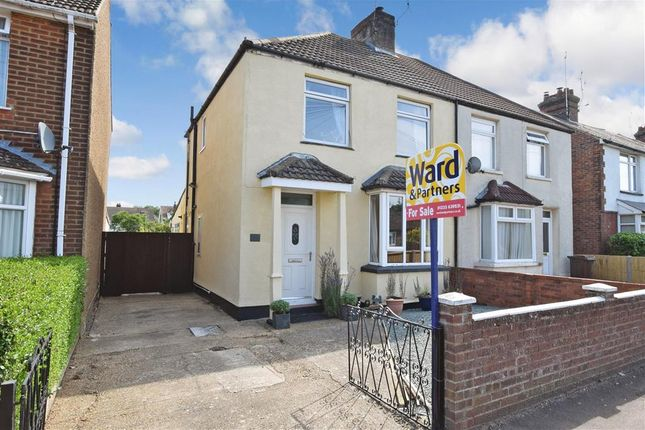Thumbnail Semi-detached house for sale in Linden Road, Ashford, Kent