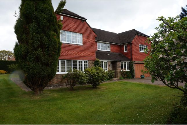 Thumbnail Detached house for sale in The Drive, Uckfield