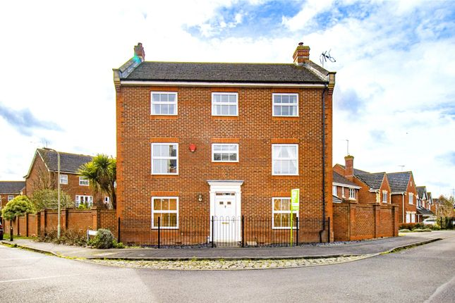 Thumbnail Detached house to rent in Arbery Way, Arborfield, Reading, Berkshire