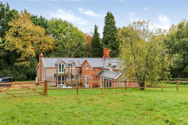 Thumbnail Detached house for sale in Ash Hill Common, Sherfield English, Romsey, Hampshire