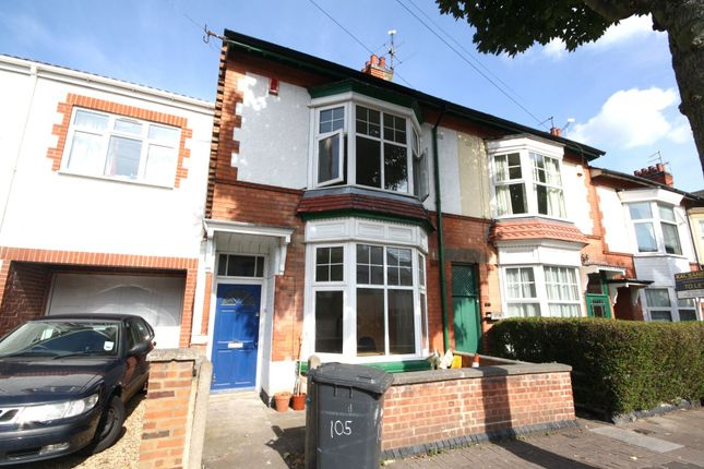 Thumbnail End terrace house to rent in Winchester Avenue, West End, Leicester