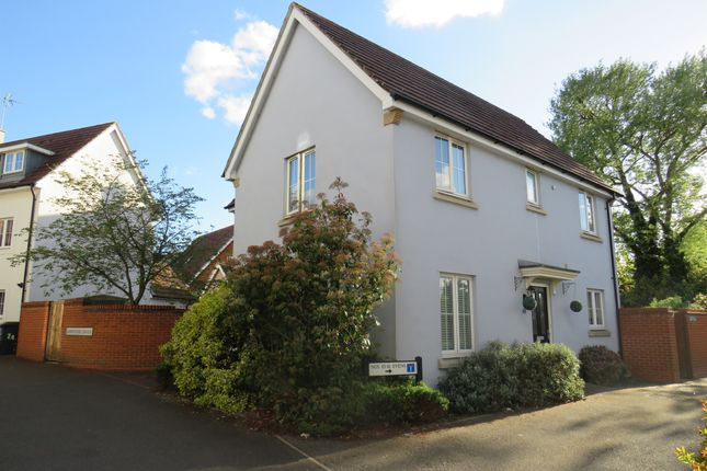 Thumbnail Detached house for sale in Lambourne Chase, Great Baddow, Chelmsford