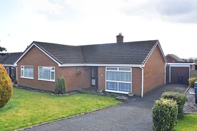 Thumbnail Detached bungalow for sale in Pentrosfa Road, Llandrindod Wells