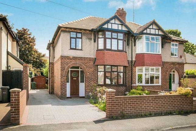 Thumbnail Semi-detached house for sale in Oaklea Avenue, Hoole, Chester