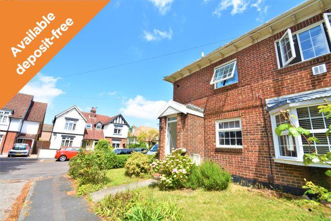 Thumbnail Maisonette to rent in Balaclava Road, Southampton