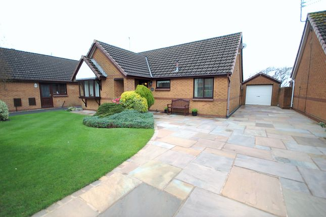 Thumbnail Detached bungalow for sale in Chaffinch Close, Thornton-Cleveleys, Lancashire