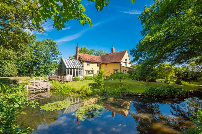 Thumbnail Detached house for sale in Naughton, Ipswich, Suffolk