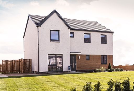 "Thumbnail Detached house for sale in ""Hollandswood"" at Whitehills Gardens, Cove, Aberdeen"